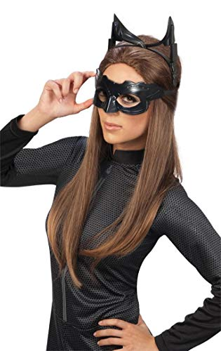 Batman The Dark Knight Rises Deluxe Catwoman Goggles mask, Black, One Size