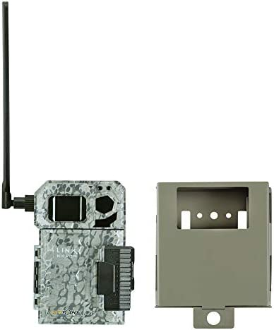 Spypoint Link Micro 4G Cellular Trail Camera with Steel Security Box Link-Micro-V