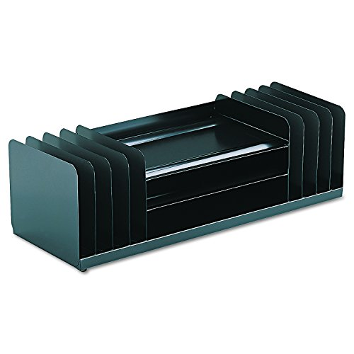 SteelMaster 26420VCVBLA Jumbo Organizer for Large Forms, 11 Sections, Steel, 30 x 11 x 8 1/8, (Jumbo Desk)