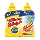 French's Classic Yellow Mustard 30 oz. bottle, 2 ct. (pack of 4) A1