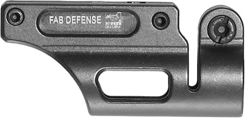 Mako 3/4-Inch Diameter Flashlight Mount for Uzi Bayonet Lug, Black