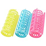 192 Medium Steam Hair Styling Rollers For Woman And Girls Plastic Construction, Assorted Colors WHOLESALE BULK LOT