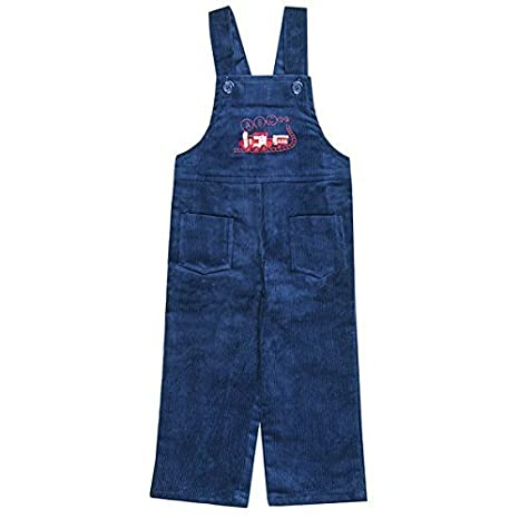 Boys//Girls Baby Toddler Train Birds Corduroy Dungarees Trousers Sizes from 6 to 24 Months