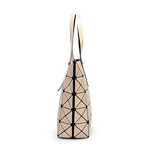 Geometry Top Purple Bag Fashion Tote Handbag Ladies Shoulder Bag CY5gBqWw