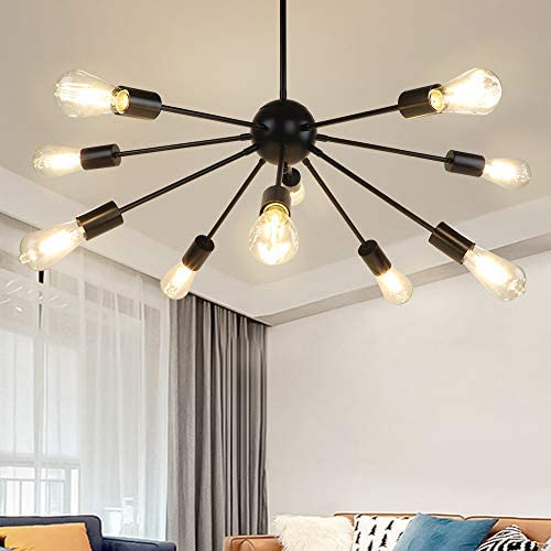 DLLT Sputnik Chandelier 10 Light