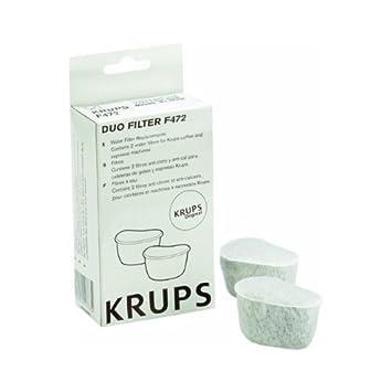 F47200 Duo filtros Sistema de filtración de agua para cafeteras, paquete de 2