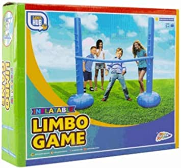 Online Street Inflatable Limbo Pole Stand Set Garden Fun Games Summer Garden Outdoor Balance Party Family Fun Suitable For Ages 5 Amazon Co Uk Toys Games