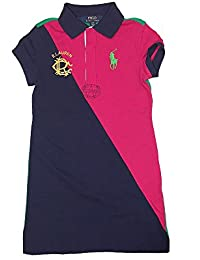 Girl\u0027s Big Pony Color-Blocked Dress, Large(12-14 yrs), Sport Pink · 39 ·  Product Details · Polo Ralph Lauren