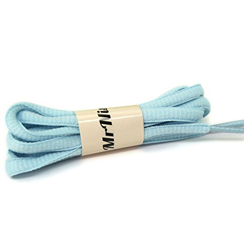 light blue laces - 6