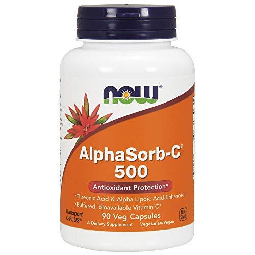 Now Supplements, AlphaSorb-CTM 500 mg with Threonic Acid & Alpha Lipoic Acid Enhanced, 90 Veg Capsules
