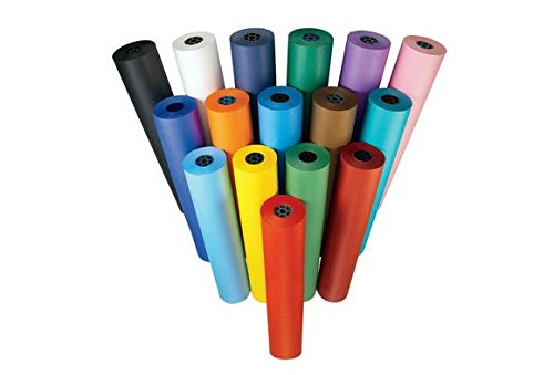 Colorations DSBK Dual Surface Paper Roll, Black by Colorations