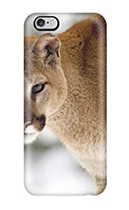Durable Protector Case Cover With Big Cat Hot Design For Iphone 6 Plus