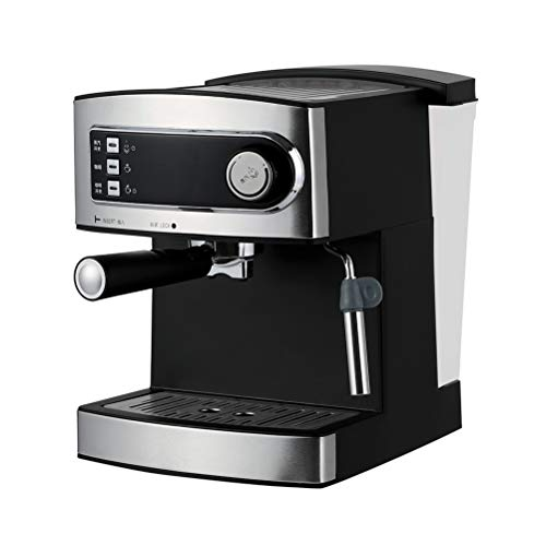 LTLWSH Espresso Machine 20 Bar, Capuccino, Milk Foam, 850W,Steam Nozzle Capacity 1.6L One Touch Control for Frothing Milk and Preparing Hot Drinks