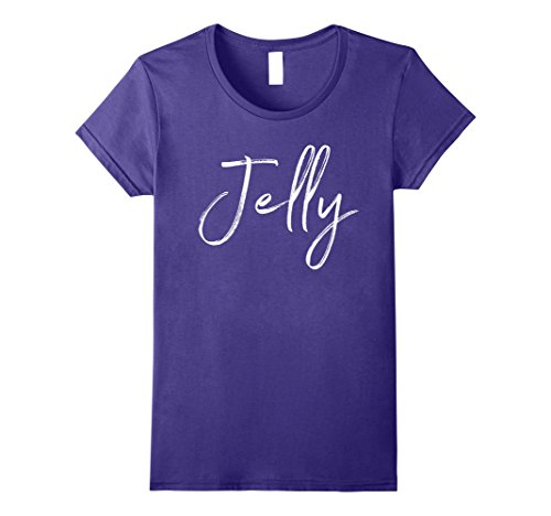 Womens Jelly Matching Peanut Butter Shirt Couples Halloween