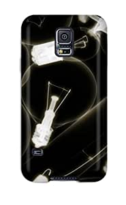 New Premium DeirdreAmaya X-ray Light Bulbs Skin Case Cover Excellent Fitted For Galaxy S5 by Maris's Diary