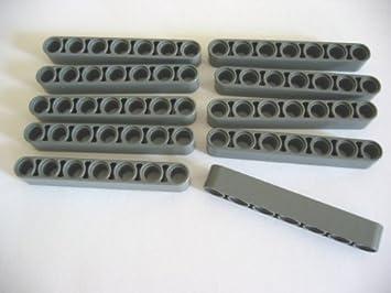 Lego Technic Technik 10 Liftarme 7 Löcher #32524 schwarz NEUWARE