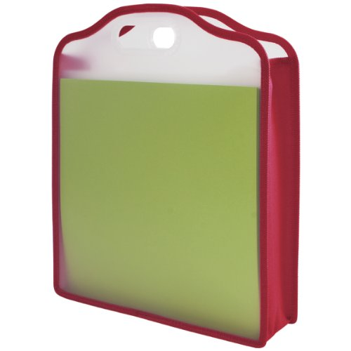 Storage Studios Expanding Paper Folio for 12 x 12 Sheets, 15.75 x 13 x 3 Inches, Color May Vary, CH93391