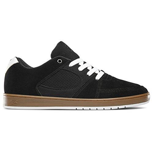 Skate Shoe, Black/Gum/White, 11 Medium US (Accel Shoe)