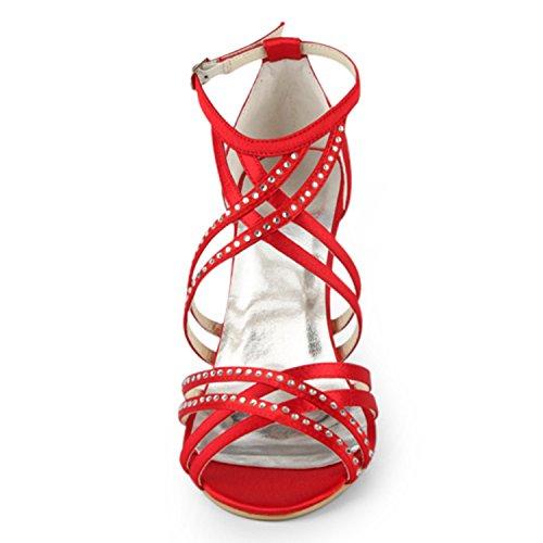 10cm Minitoo Scarpe Red Tacco Heel Col Donna wwFSqZnxXa