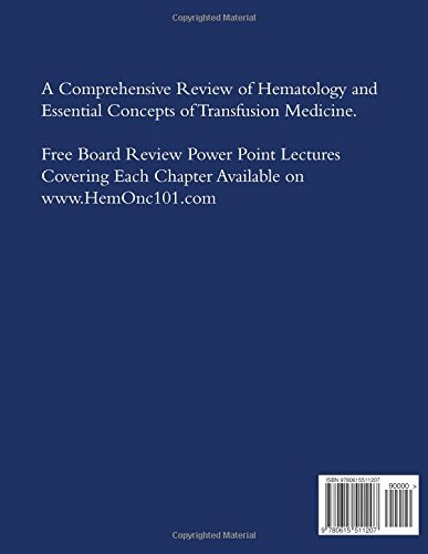 Hematology and Transfusion Medicine Board Review Made Simple: Case Series which cover topics for the - http://medicalbooks.filipinodoctors.org