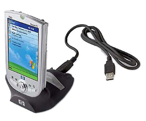 Compaq iPAQ 311317-B21 1910 USB Desktop Cradle with Battery Slot for - Compaq Top