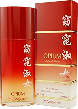 Opium Poesie De Chine by Yves Saint Laurent for Women Eau D orient Eau De Toilette Spray, 3.3-Ounce limited Edition