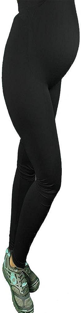 Donne Maternit/à Pantacollant Donne Gravidanza Yoga Leggings Seamless Shapewear Pancia Supporto Incinta Ghette Alto Vita Magro Pantaloni Per Incinta Donne Traspirante Casuale Bottoms Pantaloni