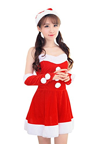 [YeeATZ Fashion Sexy Christmas Festival Princess Costume] (James Bond Womens Costumes)