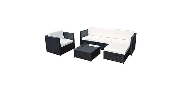 Conjunto Cargèse de sillas y mesa para jardín, de resina ...