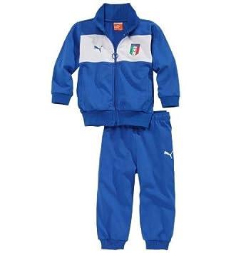6852195f57 Survêtement Puma Italie Enfant, Team Power Blue (2 ans): Amazon.fr ...
