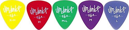 Dunlop Gel Guitar Picks M-L, Medium Light, .60 mm 1 - Jim M