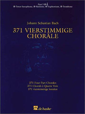 371 4-part Chorales B Flat Tc Part 3 (De Haske Concert Band Full Set)