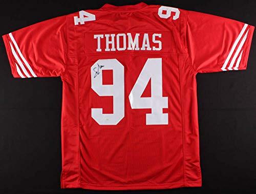 Solomon Thomas Autographed Signed Memorabilia 49Ers Jersey - JSA Authentic
