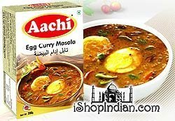 Aachi Egg Curry Spice Mix to Prepare Egg Gravy 7 Oz., 200g, Indian Spice by (India Gravy)