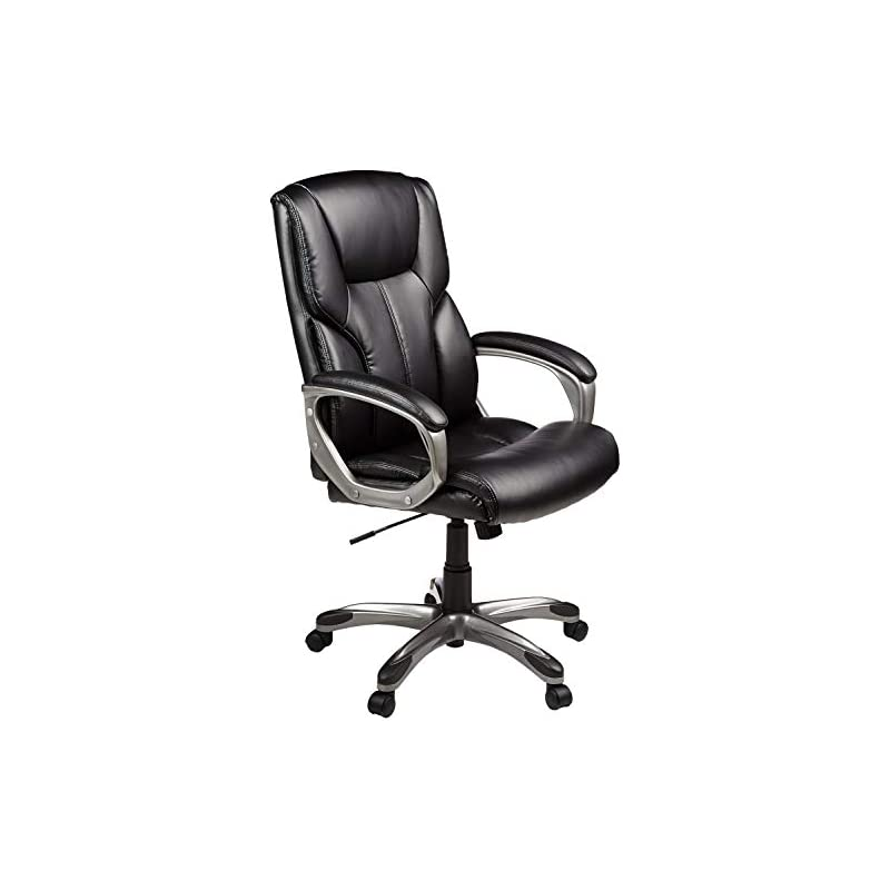 AmazonBasics High-Back Executive Swivel