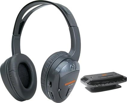 amazon com sylvania syl wh930gb wireless headphones black rh amazon com sylvania wireless headphones user manual