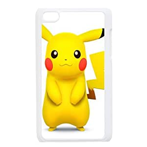 Custom Pikachu Back Cover Case for ipod Touch 4JNIPOD4-205