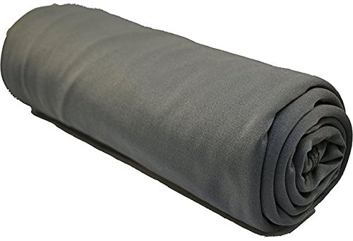 Towels Micronet Microfiber (Discovery Trekking Outfitters Extreme Ultra-Light Towel, Charcoal Grey, 19 x 19-Inch, Weighs 1.3oz)