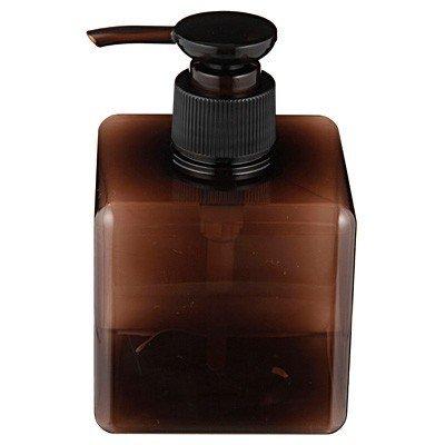 30795d5247d4 MOMA Muji PET Rectangular Pump Bottle - 250ml - Brown