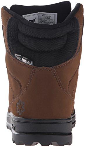 DC Mens SPT Skate Shoe, Brown/Black, 6 M US