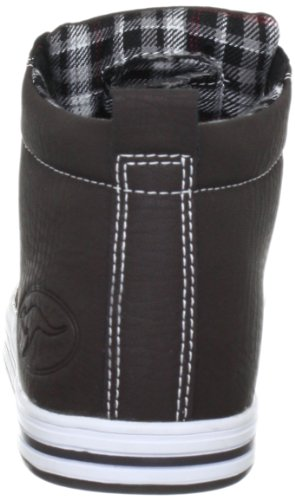 KangaROOS Marlow 3230A, Unisex - Erwachsene Klassische Sneakers, Braun (chocolate 302), EU 41