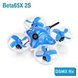 BETAFPV Beta65X 2S Brushless Whoop Drone with 2S F4 FC DSMX Z02 Camera OSD Smart Audio 17500KV 0802 Motor PH2.0 Cable for Tiny Whoop FPV Racing