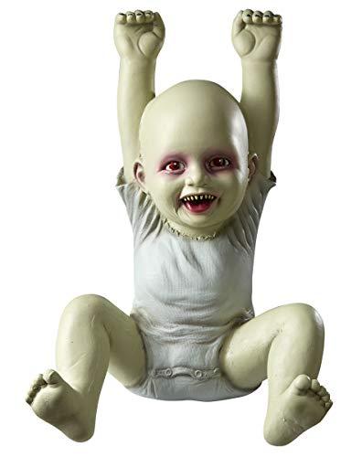 Zombie Baby Prop - 18.5 Inch Hung Up Hank Zombie