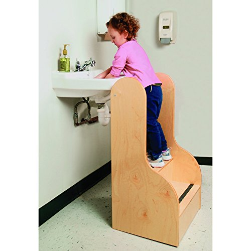 Whitney Brothers Step Up-Tall Stairs-Perfect for Assisting Children to Reach by Whitney Bros/Whitney Brothers