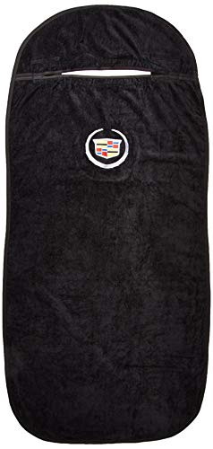 Seat Armour SA100CADB Black 'Cadillac' Seat Protector Towel - Top Essential Draped