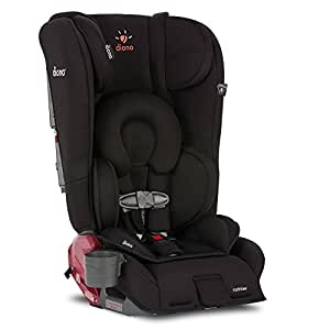 Diono Rainier All-In-One Convertible Car Seat, Midnight Black