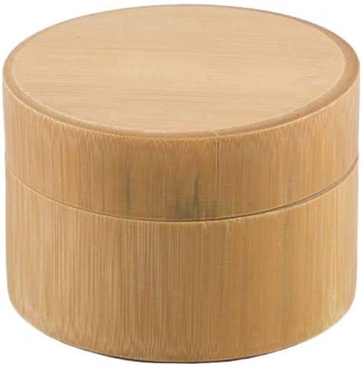 BESTonZON Caja de té de bambú Caja de Almacenamiento Maccha Caja de Almacenamiento de Cocina de Tarro de Frasco: Amazon.es: Hogar