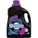 Woolite DARKS Liquid Laundry Detergent, 50 Loads, 100oz, Regular & HE Washers, Dark & Black Clothes & Jeans, midnight breeze scent, packaging may vary
