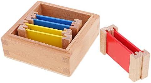 Montessori Juego Educativo Sensorial Material Ejercicio de Color Caja de Madera Regalo para Niños Bebés - Pequeño: Amazon.es: Juguetes y juegos
