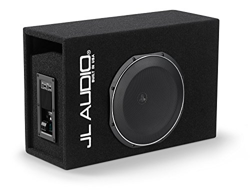 JL Audio ACP112LG-TW1 400W MicroSub+ Amplified Subwoofer Ported-Enclosure System with Single 12